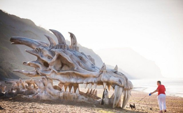 Massive Dragon Skull