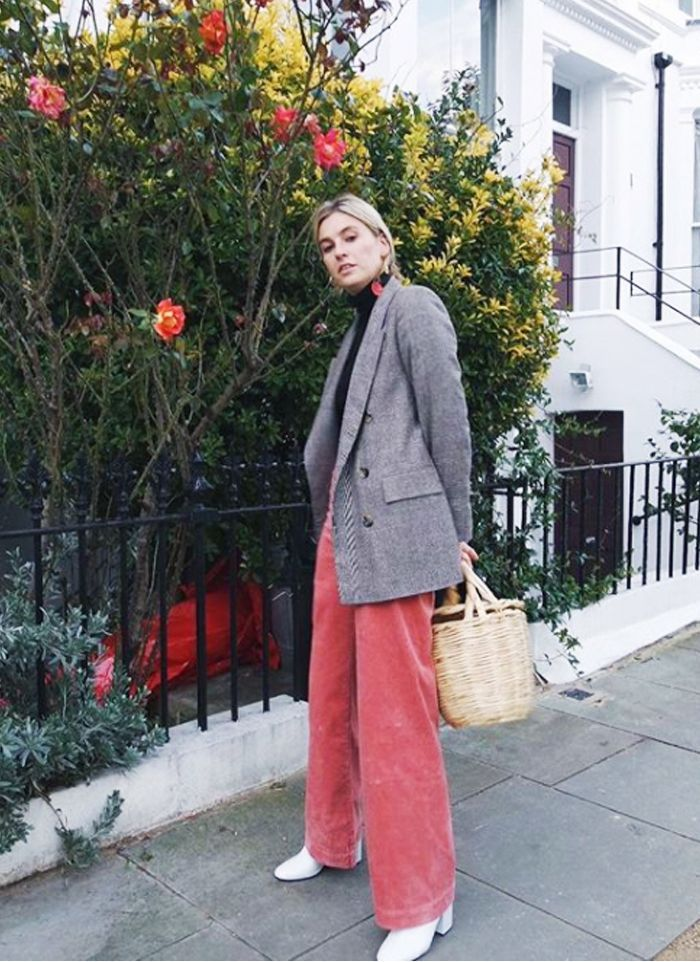 Fashion Girls Are Swapping Jeans for These Unlikely Trousers via @WhoWhatWearUK