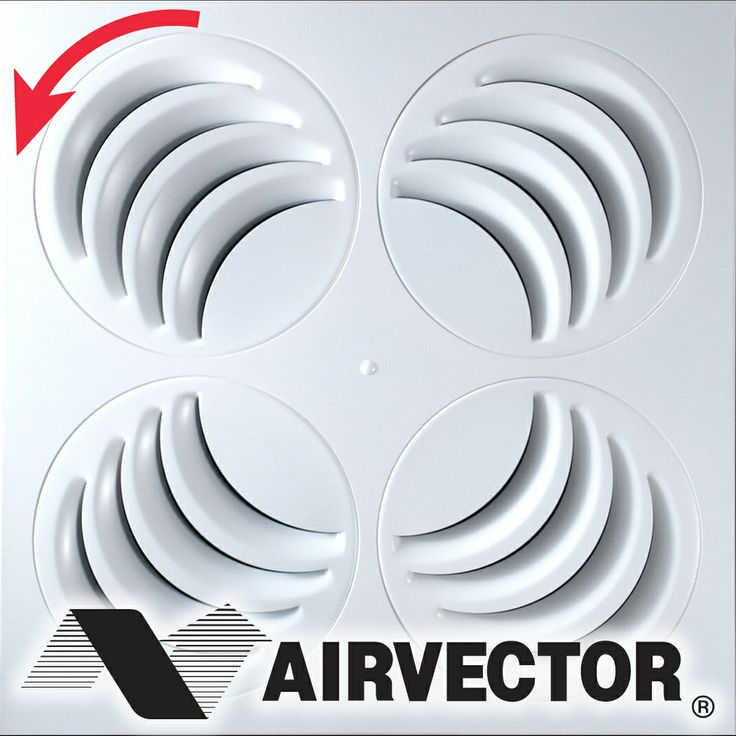 The only air diffuser that truly allows for full horizontal adjustment. Get rid of air drafts with the PLAY, just PLAY with it 'till everyone's comfortable!