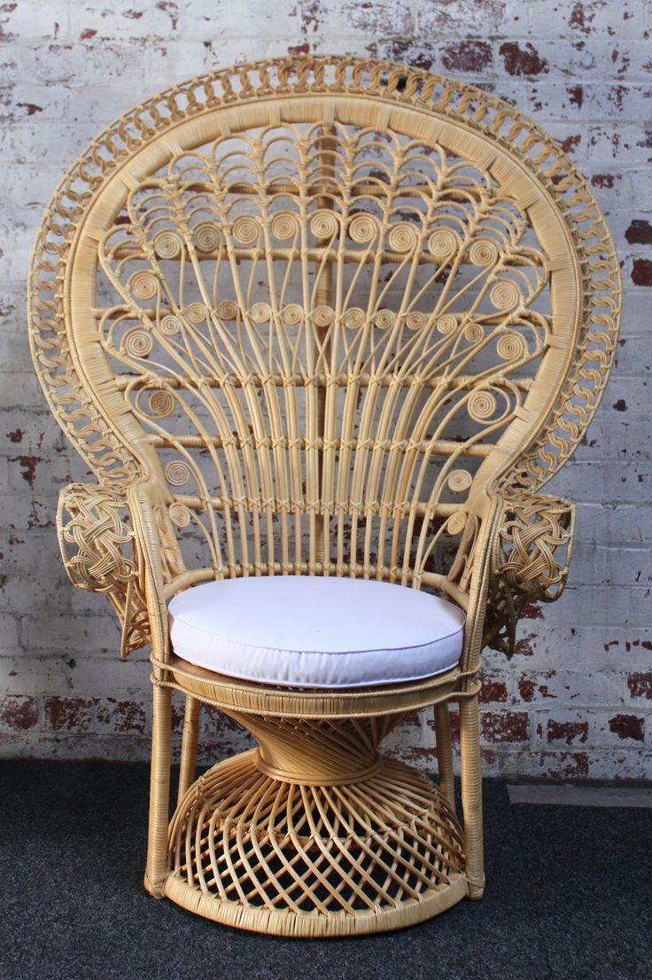peacock chair natural1 | Wicker chair, Peacock chair for ...