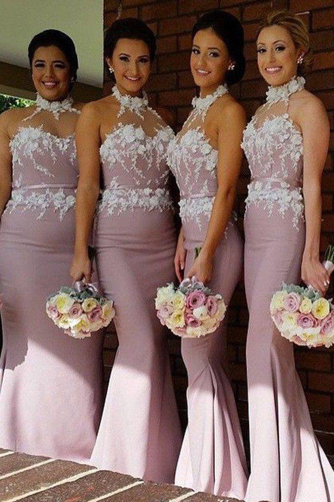Bridesmaid Dresses,Bridesmaid Gowns,Beautiful Long Cheap Wedding Party Bridesmaid Dresses,Sexy Mermaid Dress,SVD461