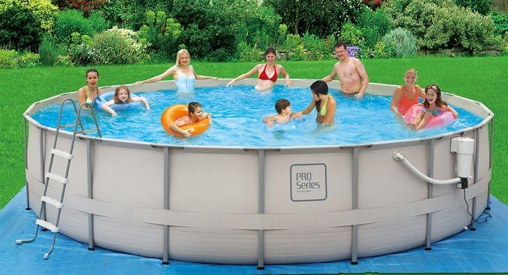 proseries 20 foot x 48 inch metal frame pool backyard ocean dream summer oasis pinterest