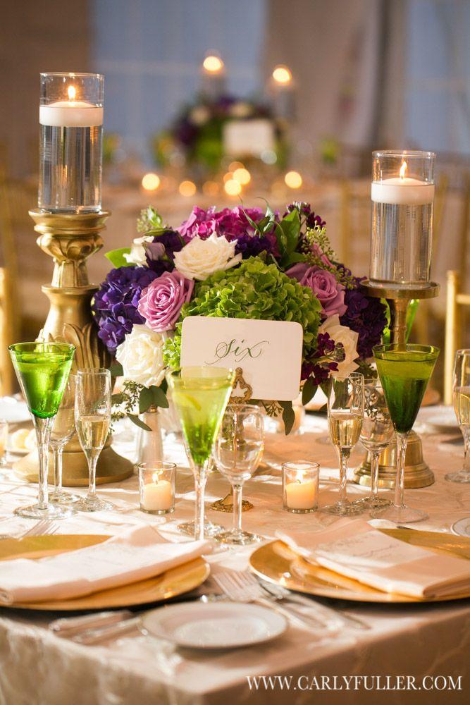 Classic Purple Virginia Wedding Filled With Plenty