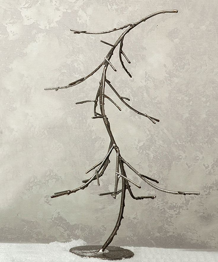 Take a look at this Silver Wire Windswept Tree Figurine today!