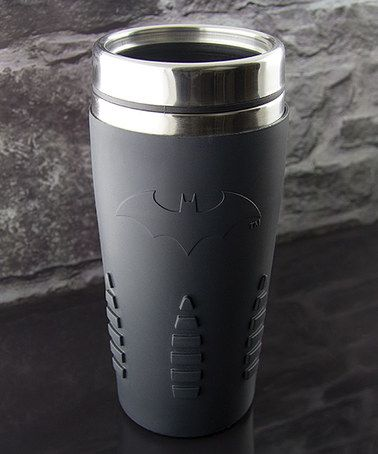 Love this 15-Oz. Batman Travel Mug on #zulily! #zulilyfinds