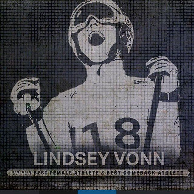 For silencing the doubters. Vote World Cup Skiing Champ @lindseyvonn for #BestComebackAthlete and #BestFemaleAthlete in the #ESPYS. #TeamUA Vote link in bio.