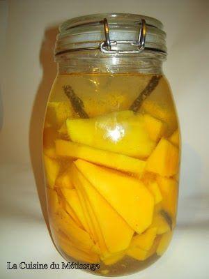 Rhum arrangé mangue/vanille