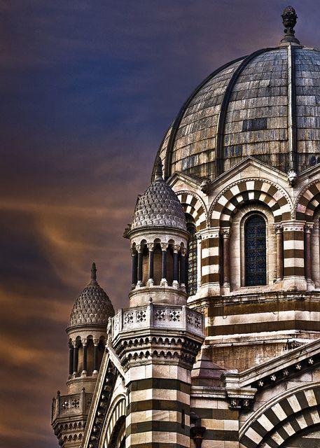 Cathedral de la Major, Marseille by Ophelia photos, via Flickr