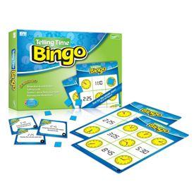 Telling Time Bingo: Grades 1-3