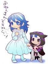 too cute! young lucina and young morgan