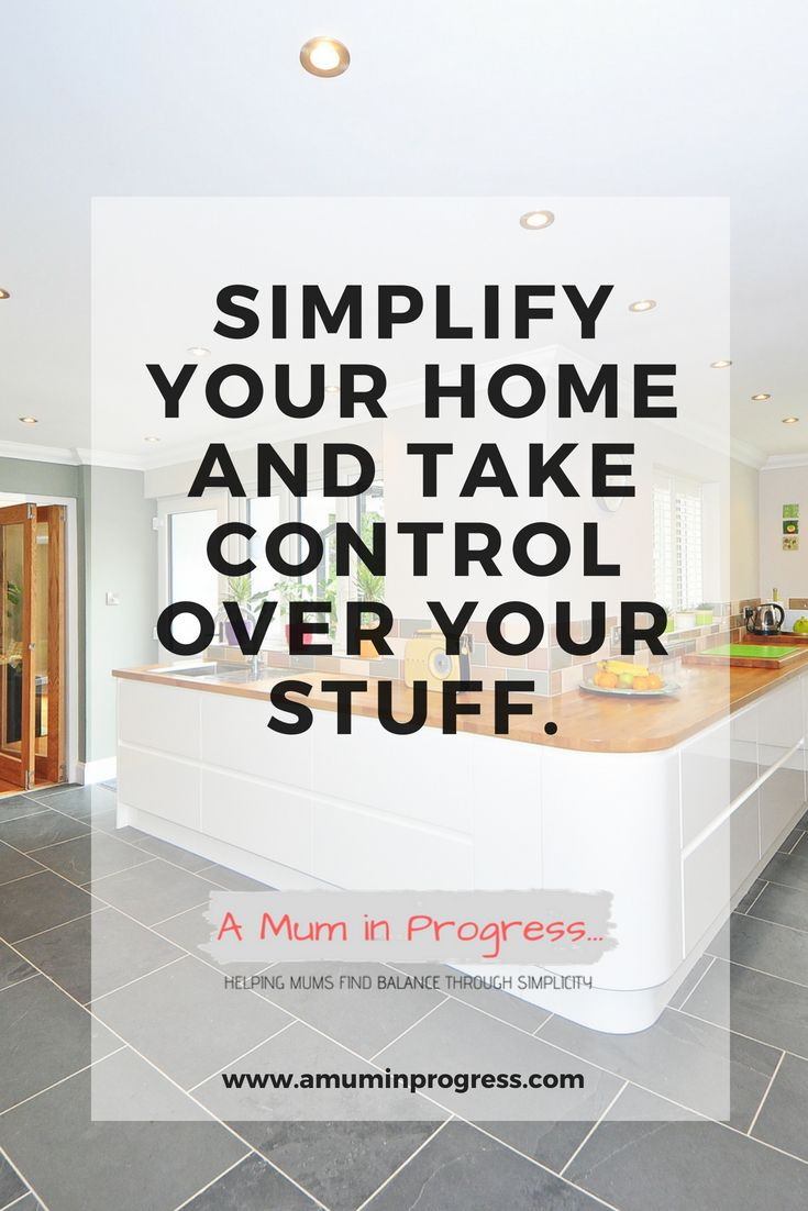 Simplify Your Home Declutter Simple Living Minimalism At How To