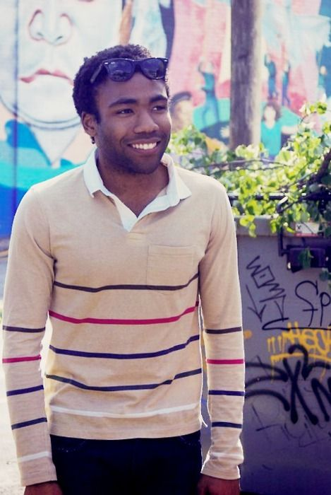 Donald Glover x Childish Gambino- also loved him on Community, used to be one of my favorite shows