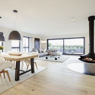 Penthouse von honey and spice innenarchitektur