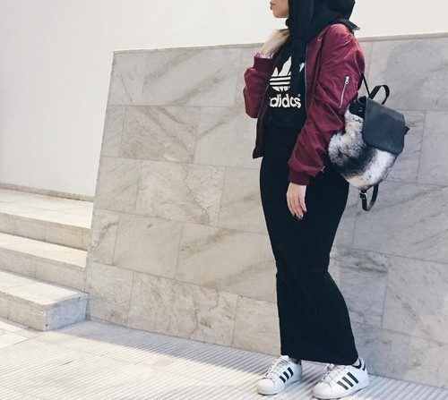 Hijab style with sneakers – Just Trendy Girls Clothing, Shoes & Jewelry : Women : Shoes : Fashion Sneakers : shoes http://amzn.to/2kB4kZa