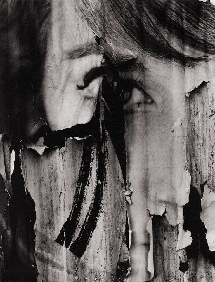 Photo by Aaron Siskind © Copyright by The Aaron Siskind Foundation. Todos vivimos con tensión, todo el tiempo, en nuestra cultura occidental. Pero creo que es bueno para la fotografía, porque la tensión es la ver- dadera esencia del carácter de...