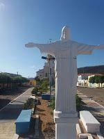 Estátua do Cristo Redentor em Nova Olinda sofre vandalismo  :: Vale News PB