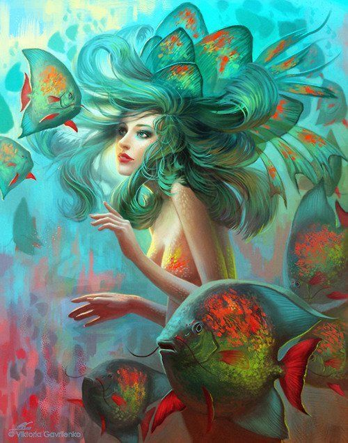I want to be a mermaid in my next life