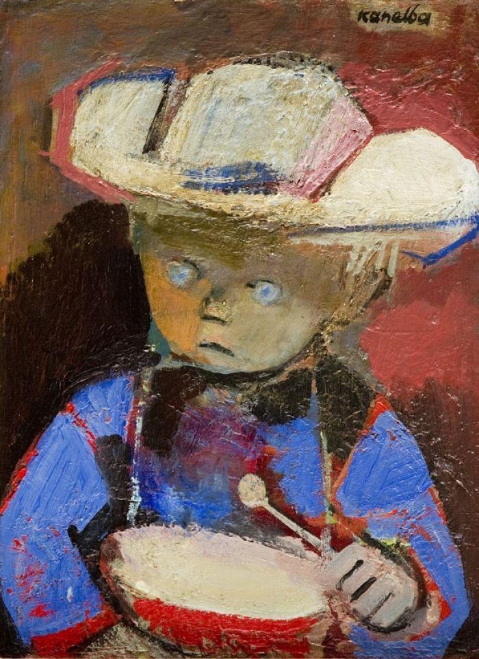 Rajmund Kanelba (Kanelbaum) - Chłopiec z bębenkiem