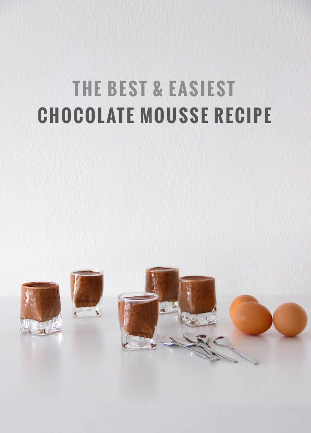 Chocolate Mousse | French By Design
