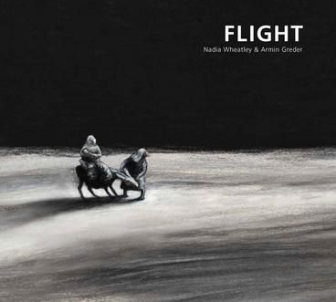 PICTURE BOOK OF THE YEAR WINNER: Flight by Greder Armin, Wheatley Nadia.  Tonight is the night. The family has to flee. They've been tipped off that the authorities are after their blood. Set in biblical times, a small family sets off across a desert in search of refuge from persecution in their own country, and an ancient story becomes a fable for our times. Their journey is beset by heat and thirst, threatening tanks and the loss of their donkey, but eventually they reach a refugee camp...