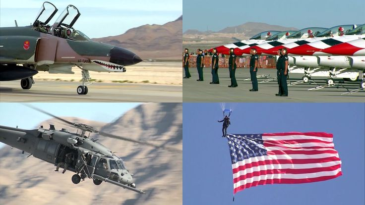 Highlights of the the Aviation Nation Air Show 2016 that is a three-day event hosted at Nellis Air Force Base in November of each year. Nellis AFB is also home base for the Air Force Thunderbirds, which usually perform at Aviation Nation as their last show of the year ... as they did in 2016 with their performance shown last.
