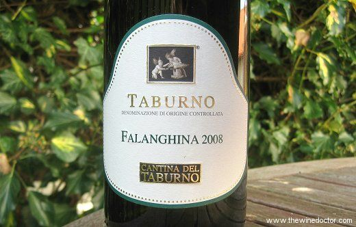 Lovely expression of Falanghina