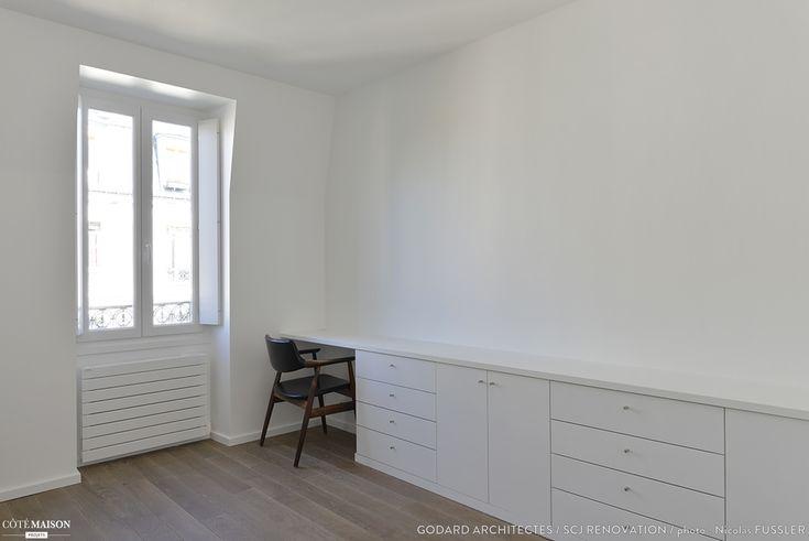 Rénovation Totale d'un appartement de 70m2 sous les combles parisiens. L'Arbalète