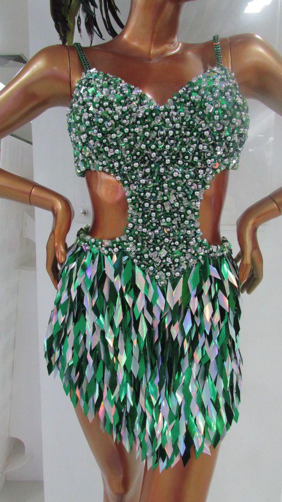 Da NeeNa M092 Salsa Latin Samba Dancing With the Stars Dance Dress #DaNeeNa #Dress