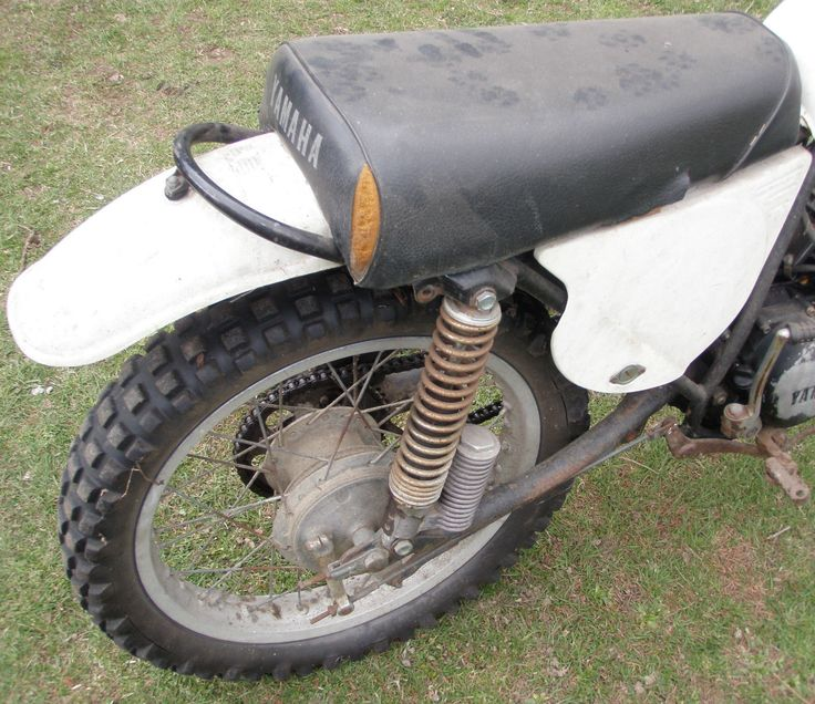 Vintage Yamaha 125 Dirt Bike MX125A | eBay