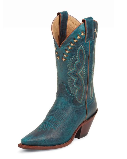 These boots are artistic and yet very wearable....plus I do not have any blue shoes/boots in my collection yet.