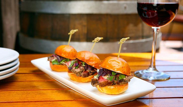Disney Recipe for Beef Tenderloin Sliders with Caramelized Onion-Horseradish Aioli from the Alfresco Tasting Terrace at Disney California Adventure Park