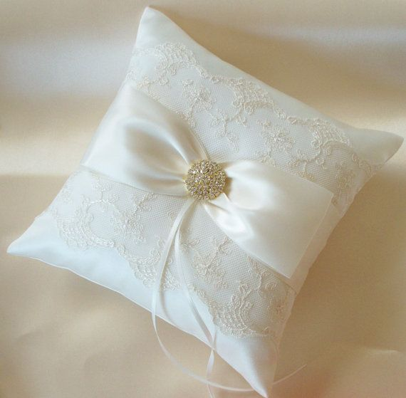 Anello nuziale cuscino cuscino anello cuscino di di JLWeddings