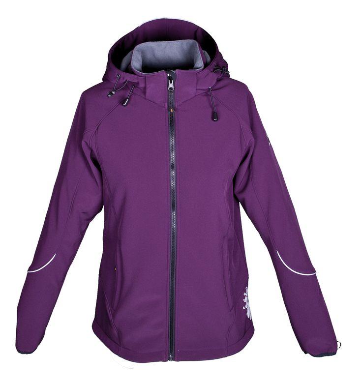 Softshelljacke Damen DEPROC NIGEL PEAK Lady für alle Outdooraktivitäten bei Kälte, Wind und Wetter. Ob Wandern, Hiking, Trekking oder Wintersport.