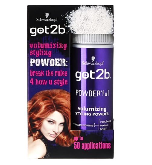 Schwarzkopf got2b Powderful Volumizing Styling Powder 10g - Boots