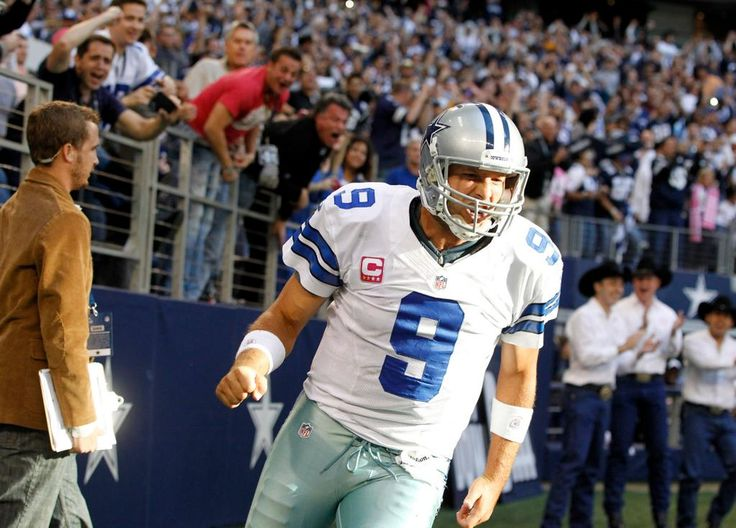 Tony Romo Stats  Pass Yards: 1,789 (10th) Comp. %: 69.2 (1st) Pass TDs: 14 (4th) Passer Rating: 104.7 (4th)  #Cowboys
