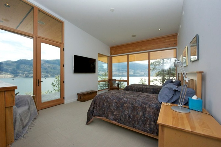 Windsor Windows Pinnacle series aluminum-clad windows with DouglasFir interiors.
