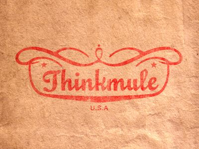 THINKMULE™, logoDesign Inspiration, Workplace Design, Logo Design, Thinkmul, Graphics Design, Design Typography, Types Treats, Promotion Design