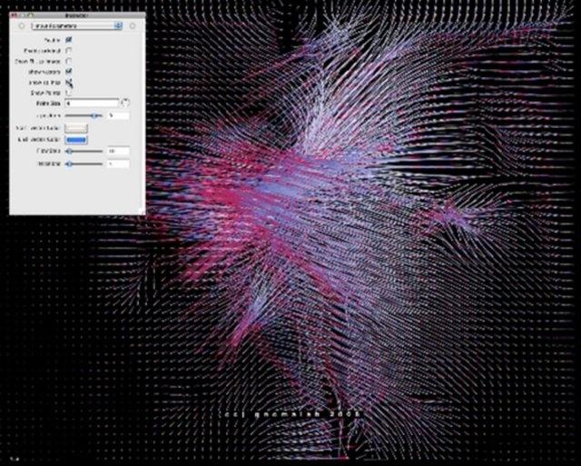 Optical flow QTZ test by gnomalab. Optical flow QTZ plugin ( incluido en apple developpers)