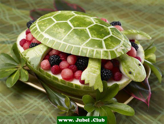Wassermelonen Fruchtschale