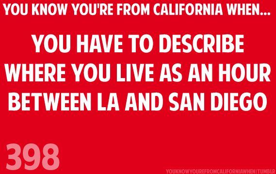 I come from the NorCal version of this. I grew up (and my family still lives) about an hour between San Francisco and Sacramento. =)