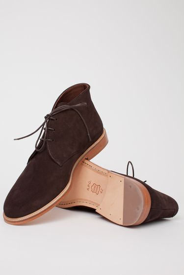 suede chukkas are back and not only for travelling deserts
