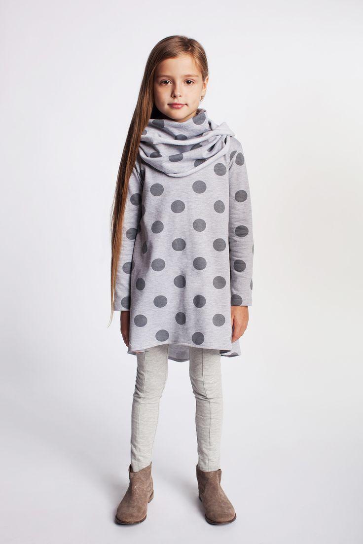 Śliczna tunika lub sukienka dziewczęca. https://kids.showroom.pl/dziecko/49457,dodo-tunika-dt08