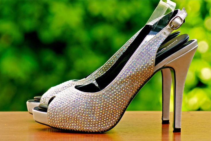 Ambi Jewel Convertible Heels- Coming Soon $140  Matching pump and flat shoe