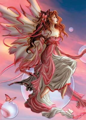 Faeries, come take me out of this dull world, For I would ride with you upon the wind, Run on the top of the dishevelled tide, And dance upon the mountains like a flame.