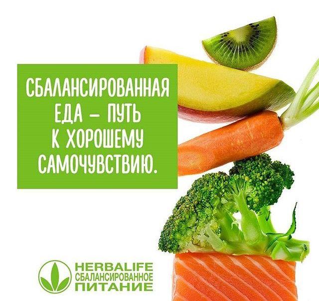 #сбалансированное_питание