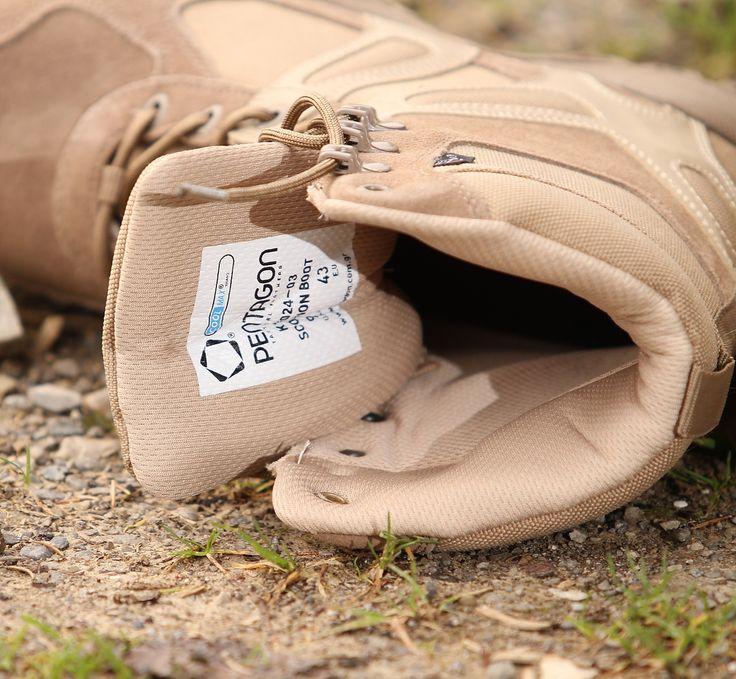 Púštne Scorpion taktické topánky sú pohodlné, vzdušné, oderuvzdorné a antibakteriálne. Vhodné na airsoft a bežné nosenie.  http://www.armyoriginal.sk/2715/137280/takticka-obuv-scorpion-coyote-pentagon.html