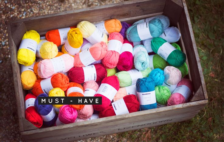 De Must-have van Yarn and Colors.