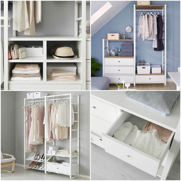 Love this new closet system from the 2017 IKEA catalog! You can mix and match rails, drawers, shelves and organizers until you have just what you need for your specific space. I am especially smitten with the new bamboo shelving options, they add such a nice touch of warmth.   IHeart Organizing: The 2017 IKEA Catalog: Items iHeart!