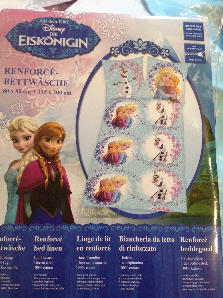 Herding Renforcé-Bettwäsche : Disney - Die Eiskönigin