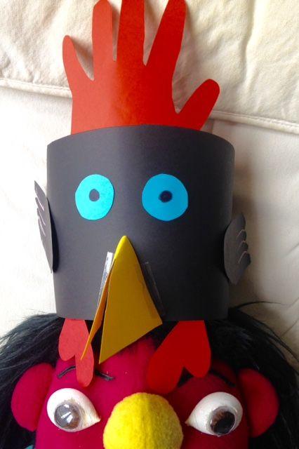 #ChineseNewYear #Craft #kids #Rooster